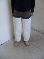 BRAND NEW LONG WHITE GOAT FUR LEG WARMER LEGWARMERS WOMEN WOMAN