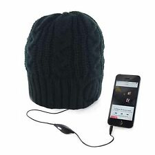 Beanie Hat With Built In Music Headphones Unisex Knitted Thermal Winter Cap Head