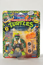 Rappin Mike - Rock n Rollin TMNT - Moc - Playmates Toys 1991