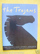 2015 San Francisco Opera Program ~ LES TROYENS (THE TROJANS) ~ Hector Berlioz