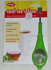 Jokari Total Tea Infuser Steep Brew Loose & Tea Bags Steeper Press