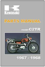 KAWASAKI Parts Manual C2TR Roadrunner 1967 1968 Replacement Spares Catalog List