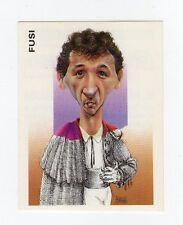 figurina CALCIATORI PANINI 1993/94 NUMERO 360 CARICATURA FUSI TORINO
