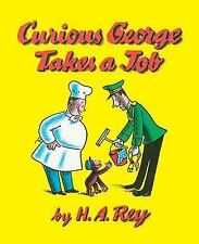 Curious George Takes a Job by H. A. & Margret Rey c1973 VGC Hardcover