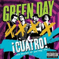 DVD ¡ Cuatro ! The Making Of Uno ! Dos ! Tre ! - Green Day Sealed New !