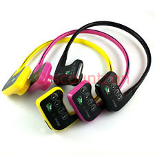 8GB Bone conduction headphone Waterproof MP3 Player headset for Swimming/running