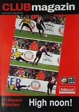 Programm 2001/02 1. FC Nürnberg - Bayern München