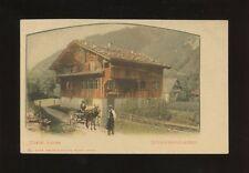 Switzerland SCHWEIZERHAUSCHEN Chalet Suisse c1902 u/b PPC