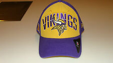 New Era Hat Cap NFL Football Minnesota Vikings M/L 39thirty 2013 Draft Flex
