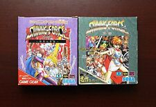 Sega Game Gear Shining Force Gaiden 1 2 boxed Japan GG games US Seller