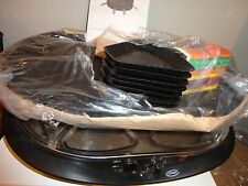 GINNY'S BRAND RACLETTE MODEL # 3K076 PARTY GRILL 8 PERSON