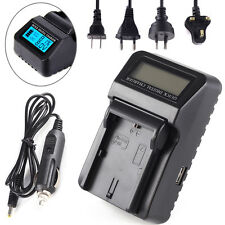 LCD Car Wall Battery Charger Fr Canon LP-E6 EOS 7D 5D III II 80D 70D 60D a 5Ds R