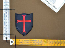 Patch pvc Templar Crusader velcro morale airsoft softair navy seal team sf