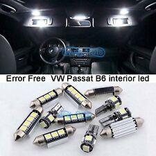 Canbus White Interior Light LED Package Kit For 2006-2011 VW Passat B6 M + Tool