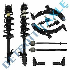 Brand New 10pc Complete Front Suspension Kit for 2002 - 2006 Nissan Sentra