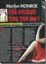 Coupure de presse Clipping 2012  - Marilyn MONROE - ( 2 P)
