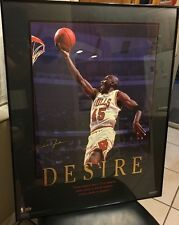 "Michael Jordan Upper Deck Desire Poster Print 24""x30"" Wall Art Deco Shoes Auto"