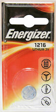 1 x Energizer 1216 CR1216 DL1216 3V Lithium Coin Cell Battery