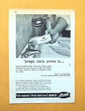 D058 - Advertising Pubblicità -1959- BIANCO DR. KNAPP , FATE RESPIRARE I DENTI
