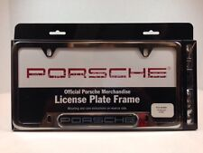 "OEM Porsche ""Porsche"" Insignia Script Logo License Plate Frame Polished Finish"