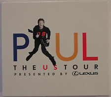 Paul McCartney The US Tour Presented By Lexus Promo-Only Tour 2-CD Set Sealed