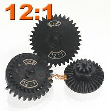 SHS 12:1 New Design CNC Extreme High Speed Gear for Ver.2/ 3 Airsoft Gearbox AEG
