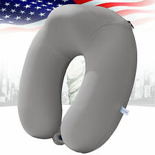 Large U Shaped Memory Foam Travel Pillow Head Support Neck Comfort Summer Design