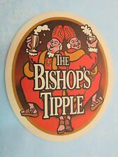 Beer Bar COASTER    WYCHWOOD (Marston's) The Bishop's Tipple ~*~ Witney, ENGLAND