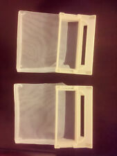 2 x LG  Washing Machine Lint Filter 5231FA2239K, 5231EY2002A  102mm x 63mm 0043