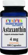 Astaxanthin Powerful Antioxidant Support 4 mg 180 caps New