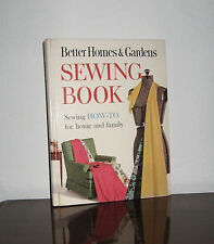 Vintage 1961 Better Homes & Gardens Sewing Book ❤ How to for Home & Family ❤ EUC