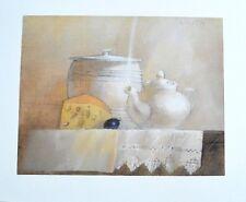 Lilita Upeniece Stillleben mit Teepot Poster Kunstdruck Bild 50x60cm - Portofrei