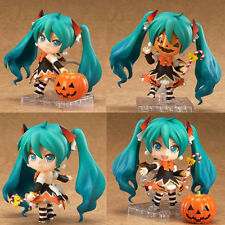 Japan Anime Nendoroid Vocaloid Miku Hatsune Halloween Action Figure 10cm No Box