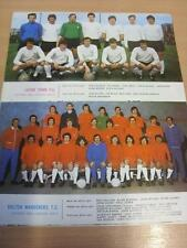 1970/1971 Football League Review: Luton Town & Bolton Wanderers Single A5 Page T