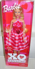 #7285 NRFB Mattel XO Valentine Barbie Doll 12th in Series Special Edition