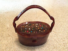 Wilardy Sweetheart Purse Twisted Handle Sparkling Jeweled Top Hand Bag 1950 Rare