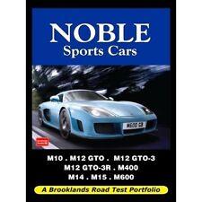Noble voitures sport road test portfolio livre papier