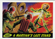 2012 TOPPS MARS ATTACKS HERITAGE DELETED SCENES CARD #10 MARTIAN'S LAST STAND