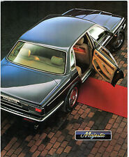 Jaguar XJ & Daimler Majestic XJ40 1993 UK Market Foldout Brochure XJ6 Sovereign