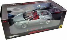 HOT WHEELS ELITE 1/18 FERRARI 360 MODENA SPIDER METALLIC GREY P9903 LIMITED 5000
