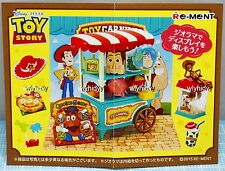 Miniatures Disney Toy Story Toy Carnival complete  box set  - Re-ment     h#6