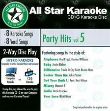 Various Artists All Star Karaoke Party Hits Vol. 5 (ASK- CD ***NEW***