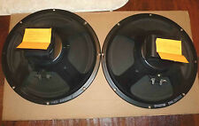 Pair of 1969 Alnico Original Cones  8/16 ohm speakers Rola for Hammond