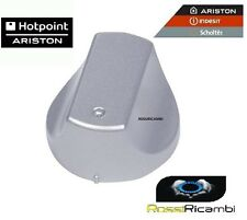 ARISTON HOTPOINT INDESIT -MANOPOLA PIANO COTTURA ARGENTO ORIGINALE C00276351