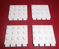 Lego (4213) 4 Scharnierplatten 4x4, in weiß aus 5987, 6560, 5580, 7166, 7153