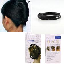 Women/Girl Hair Styling Donut Bun Clip French Twist Maker Holder Hair Stick Tips