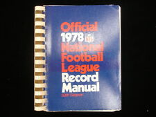 1978 Official National Football League (NFL) Record Manual