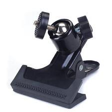 Schraube Metallkopf mit Kugelkopf Klemmstativ für Kamera Klemme Spring Clamp