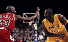 """64 Michael Jordan vs Kobe Bryant 23vs24 38""""x24"""" Poster"""