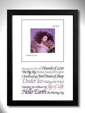 KATE BUSH Hounds of Love Album Limited Edition Art Print A4 Mini Poster